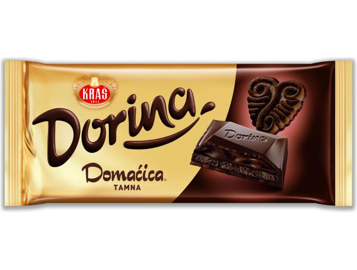 Kraš Dorina Domaćica tamna čokolada 105 g