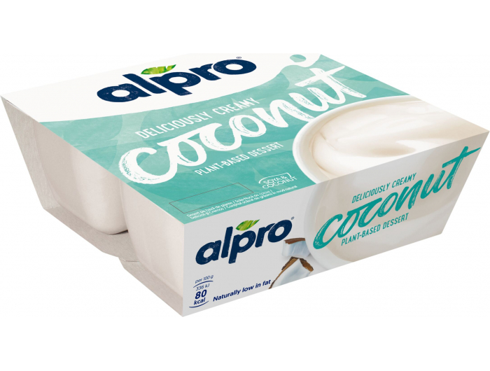 Alpro puding od soje s kokosom 4x125 g