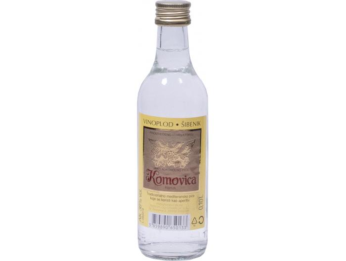 Vinoplod Šibenik komovica rakija 0,1 L
