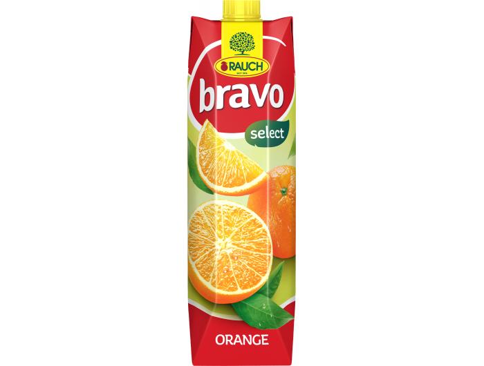 Rauch bravo nektar naranča 1 L