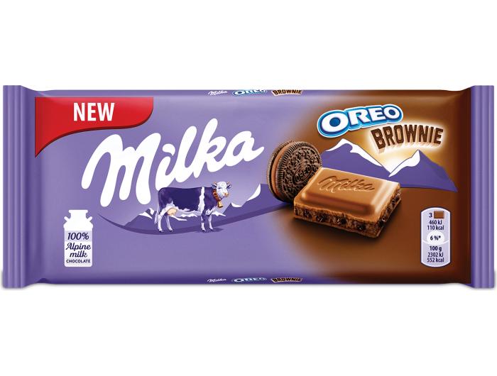 Milka Oreo Brownie čokolada 100 g