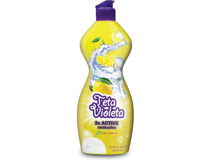 Teta Violeta deterdžent za posuđe Limun 450 ml