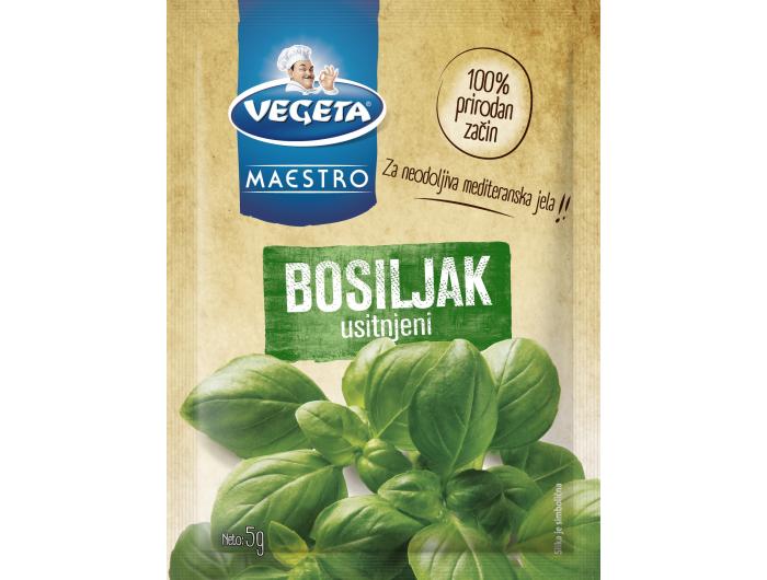 Vegeta maestro usitnjeni bosiljak  5 g