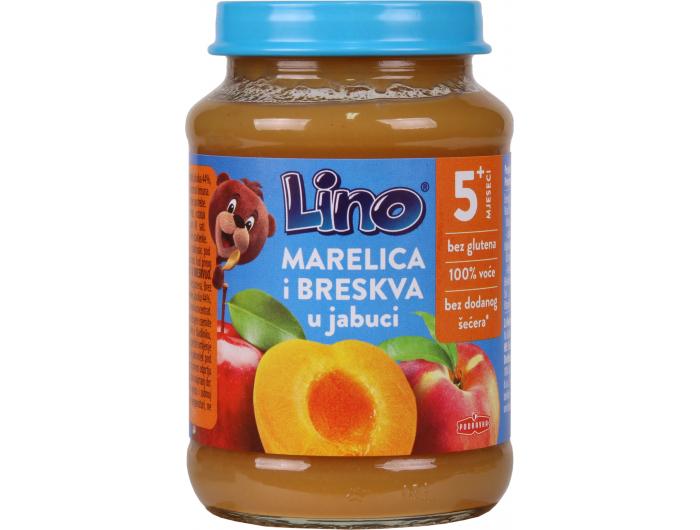 Podravka Lino Dječja kašica jabuka, marelica i breskva 190 g