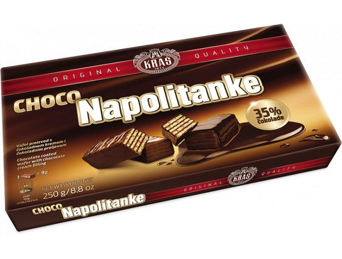 Kraš Choco napolitanke 250 g