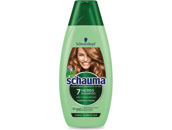Schauma Šampon 7 trava 400 ml