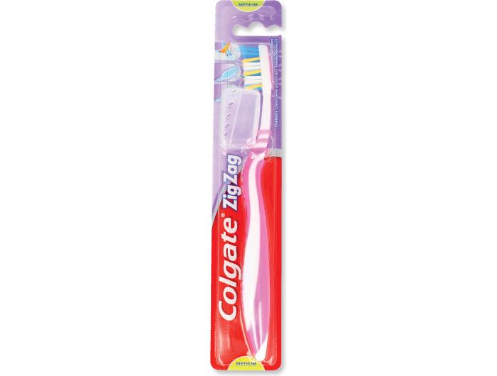 Colgate ZigZag Četkica za zube medium razne boje 1 kom