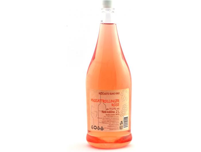 Dalvina Muscattrollinger rose vino 2 L