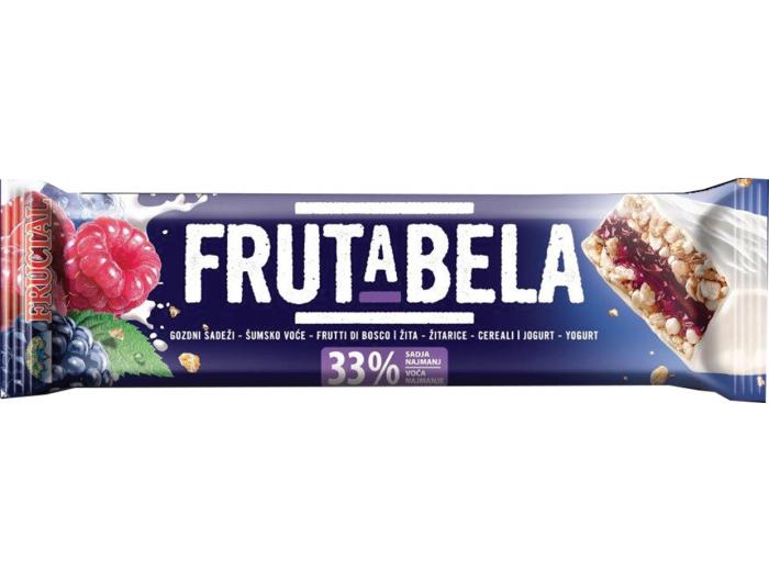 Frutabela žitna pločica šumsko voće i jogurt 30 g