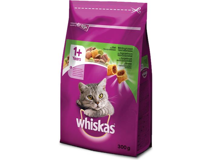 Whiskas hrana za mačke janjetina300 g