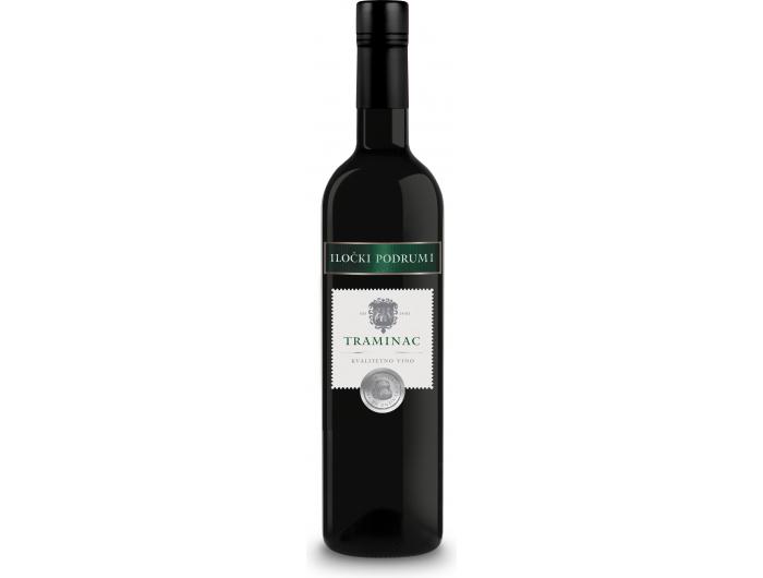 Iločki podrumi Traminac bijelo kvalitetno vino 0,75 L