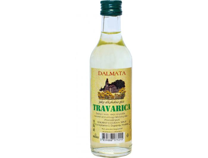 Dalmata rakija Travarica 0,1 L