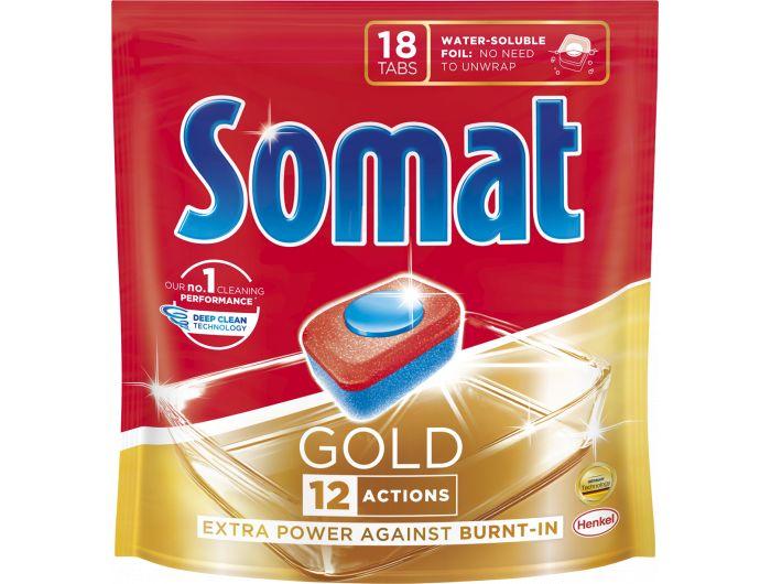 Somat gold tablete za posuđe 18 komada