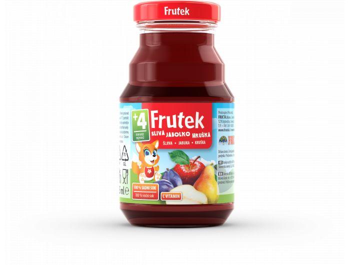 Fructal Frutek sok od šljive jabuke i kruške 125 ml