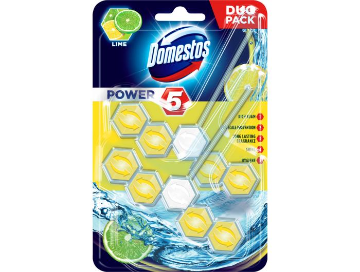 Domestos power osvježivač WC školjke – limun i limeta 100 g