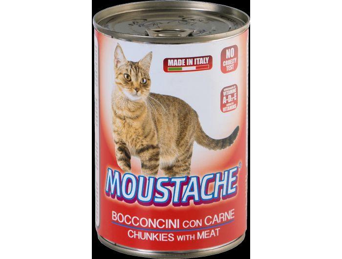 Moustache hrana za mačke  meso 415 g