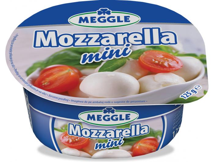 Meggle sir mozzarella mini 125 g