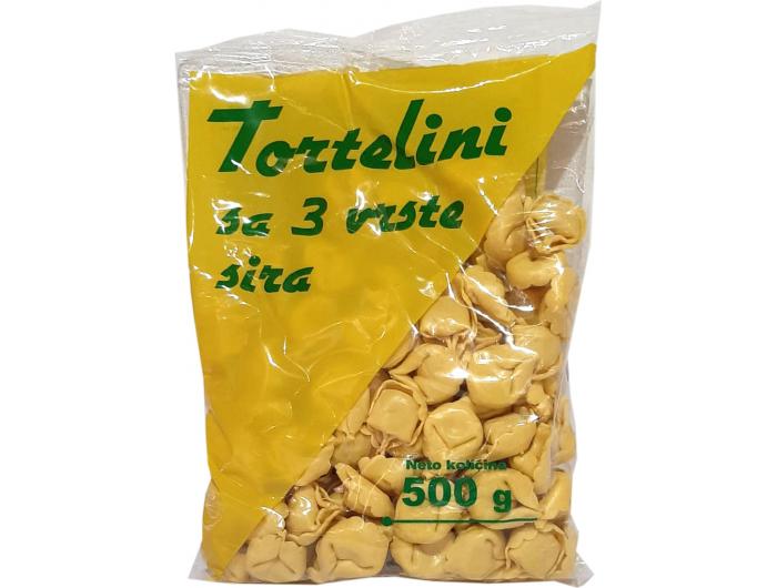Žitoproizvod Tortelini 3 vrste sira 500 g