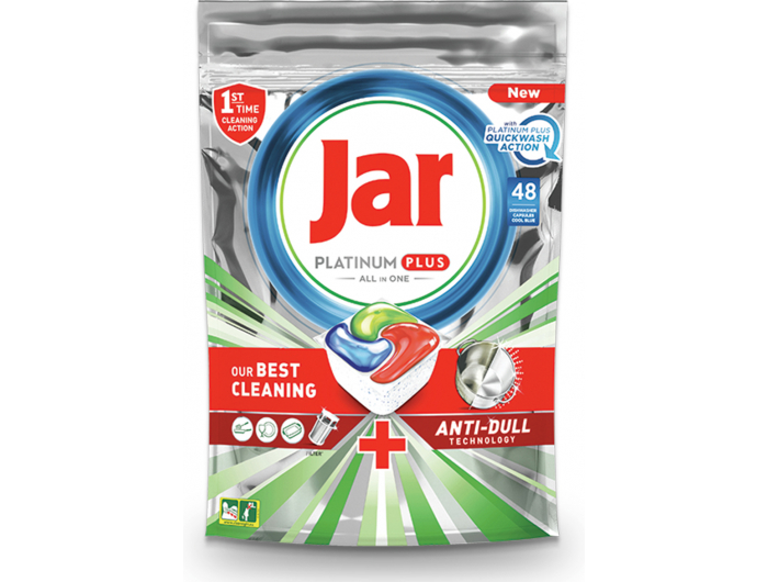 Jar Platinum Plus Tablete za strojno pranje posuđa 48 kom