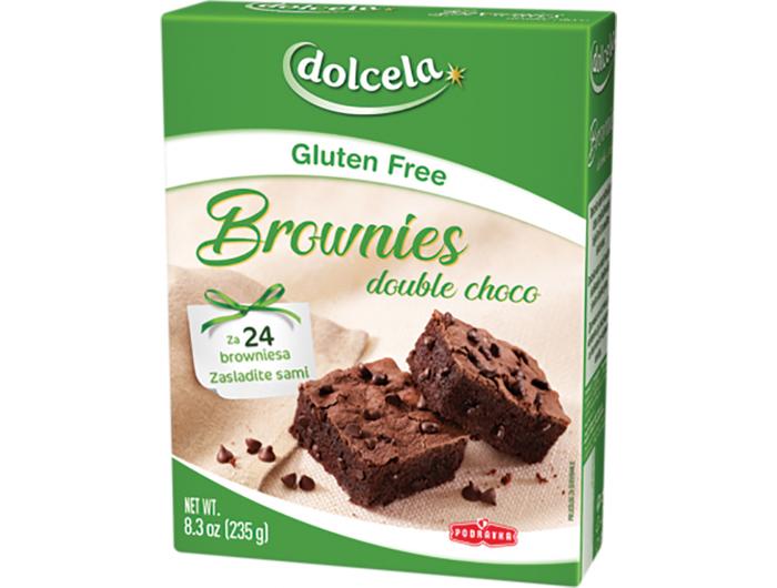 Podravka Dolcela mješavina za brownies bez glutena 235 g