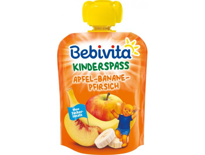 Bebivita Dječja kašica jabuka i banana s breskvom 90 g
