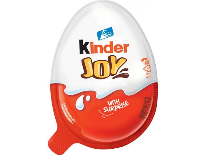 Kinder Joy mliječna čokolada 20 g