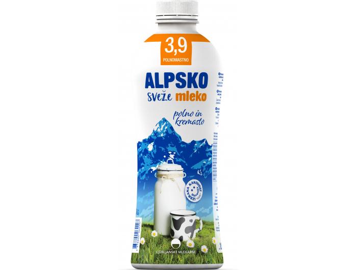 Alpsko mlijeko svježe 1 L