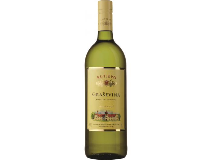 Vino bijelo Graševina Kutjevo 1 L