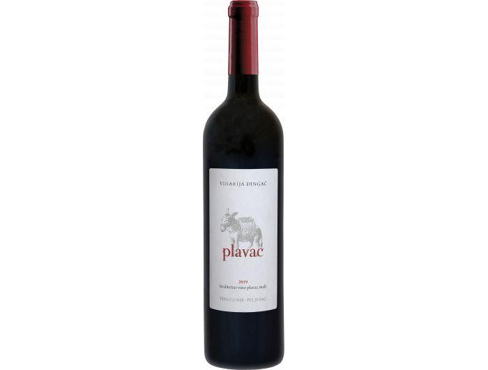 Vinarija Dingač Plavac kvalitetno crno vino 0,75 L