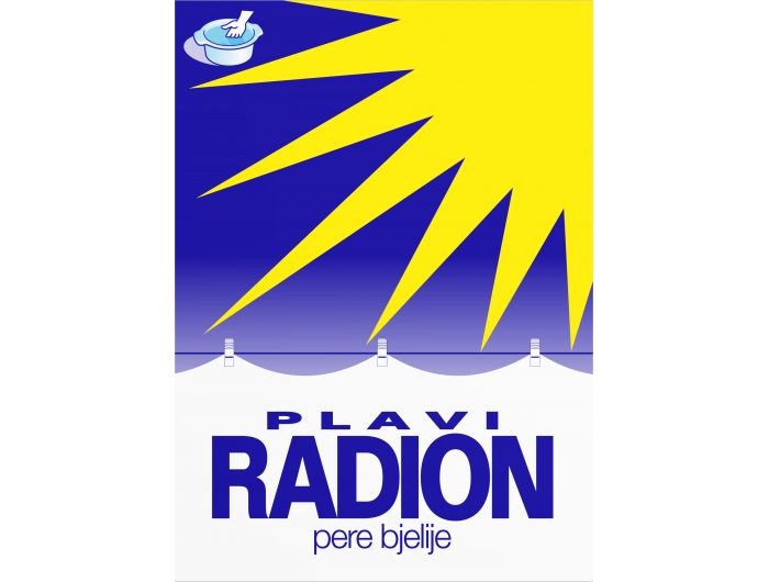 Saponia Plavi Radion deterdžent za rublje  500 g