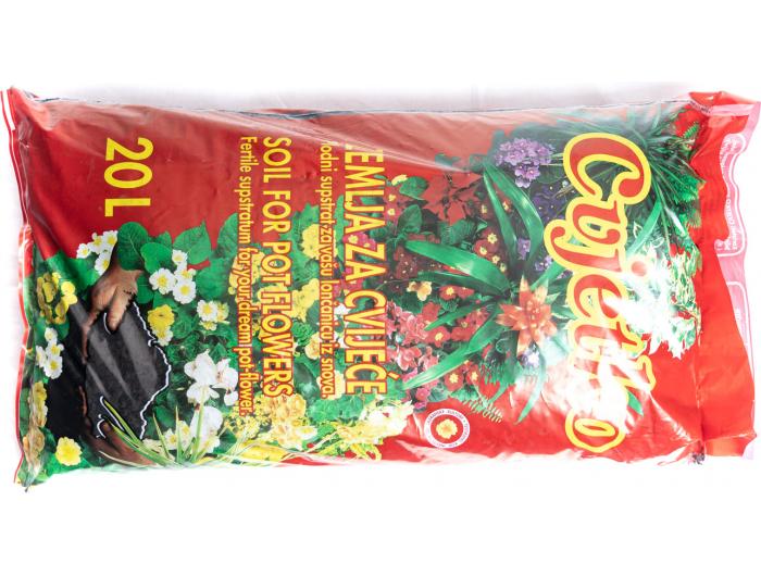 Zemlja za cvijeće 20 L
