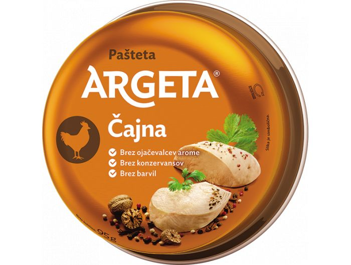 Argeta pašteta čajna 95 g