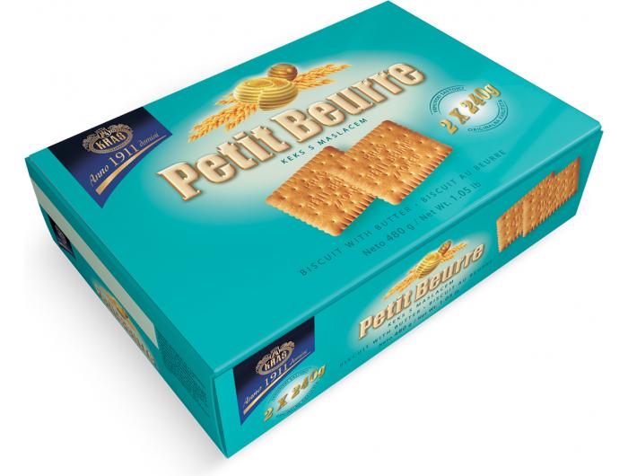 Kraš petit beurre keks 480 g