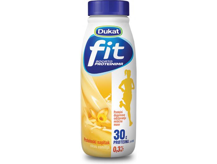 Dukat Fit mliječni proteinski napitak s okusom vanilije 0,5 L