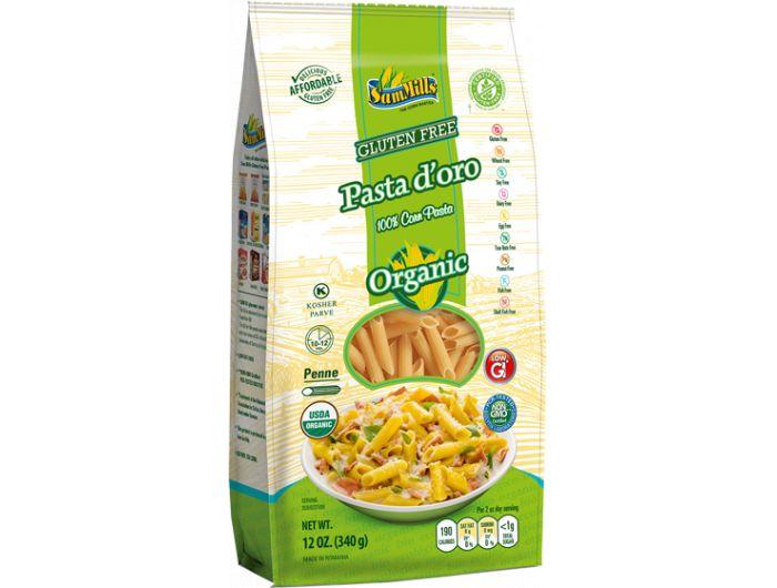 Eko tjestenina, 400 g, bez glutena, kukuruz, Sam Mills