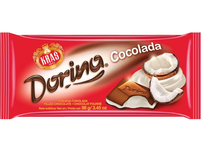 Kraš Dorina Cocolada čokolada 98 g