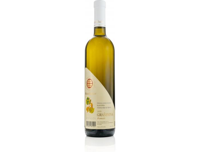 Krauthaker Graševina vrhunsko bijelo vino 0,75 L