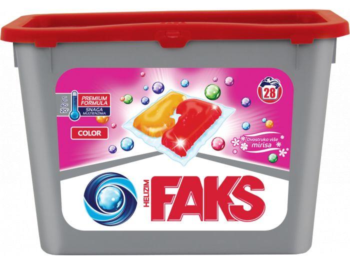 Faks white&color deterdžent 28 tableta