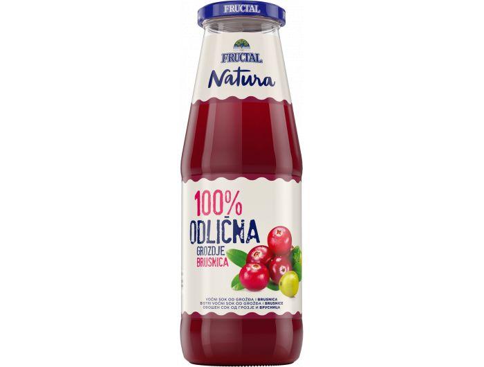 Fructal sok od grožđa i brusnice 700 ml