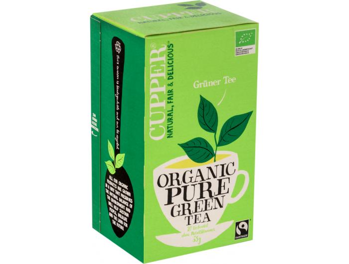 Cupper BIO zeleni čaj 35 g
