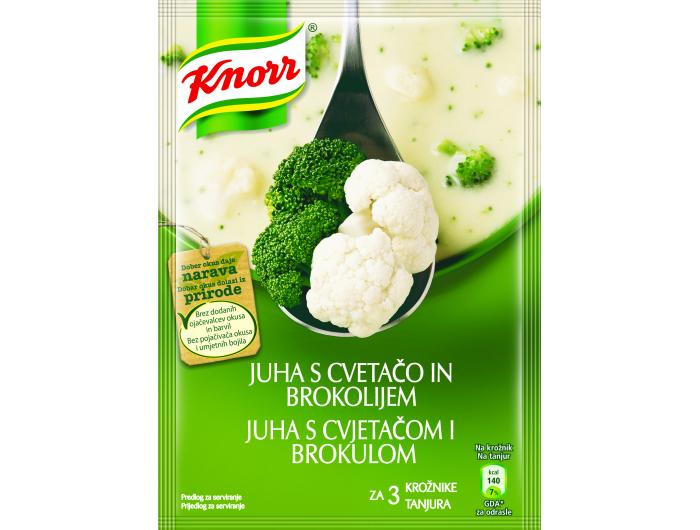 Knorr juha s cvjetačom i brokulom 70 g
