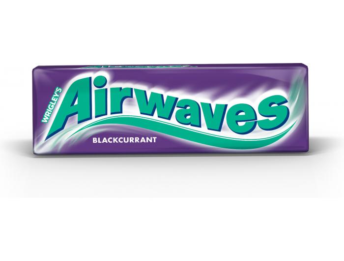 Airways žvakaća guma crni ribizl 14 g
