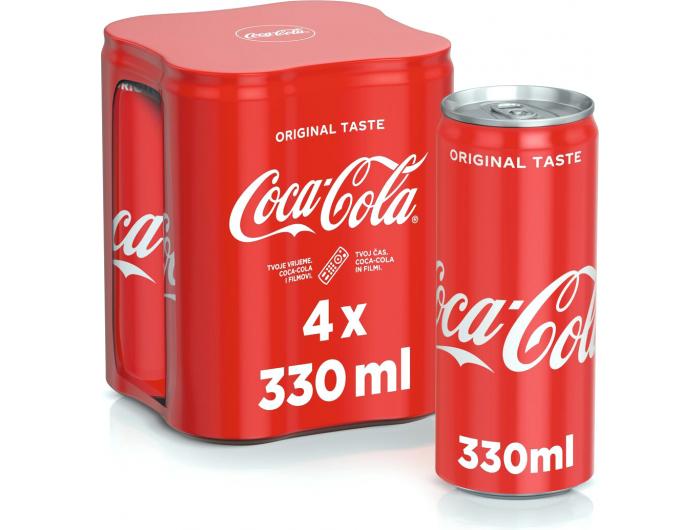 Coca Cola 4x330 ml