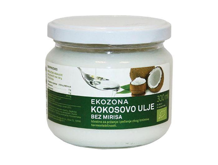 Bio kokosovo ulje, 300 ml, bez mirisa, Encian