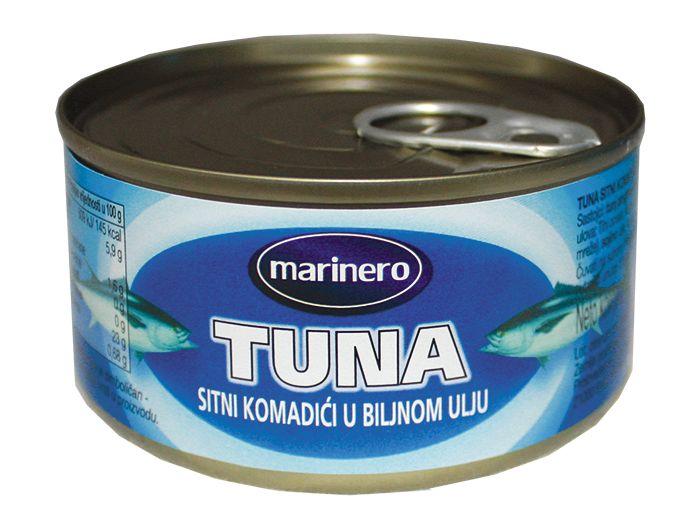Marinero tuna komadići u biljnom ulju 185 g