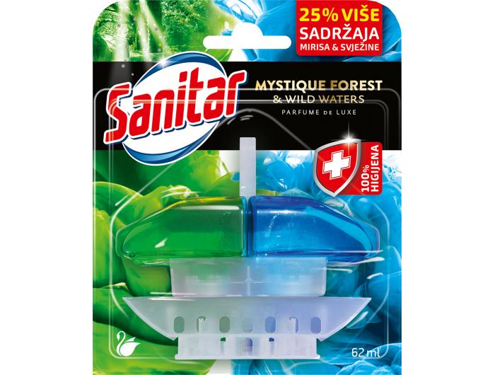 Sanitar Mystique Forest & Wild Waters osvježivač WC-a 62 ml