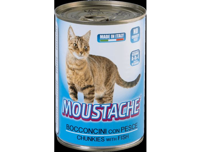 Moustache Hrana za mačke riba 415 g