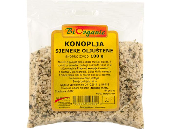 BioOrganic BIO sjemenke konoplje 100 g