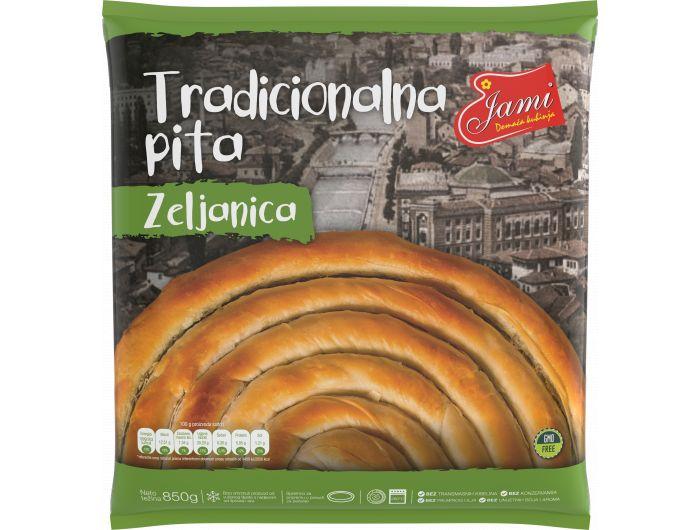 Jami tradicionalna pita zeljanica 850 g