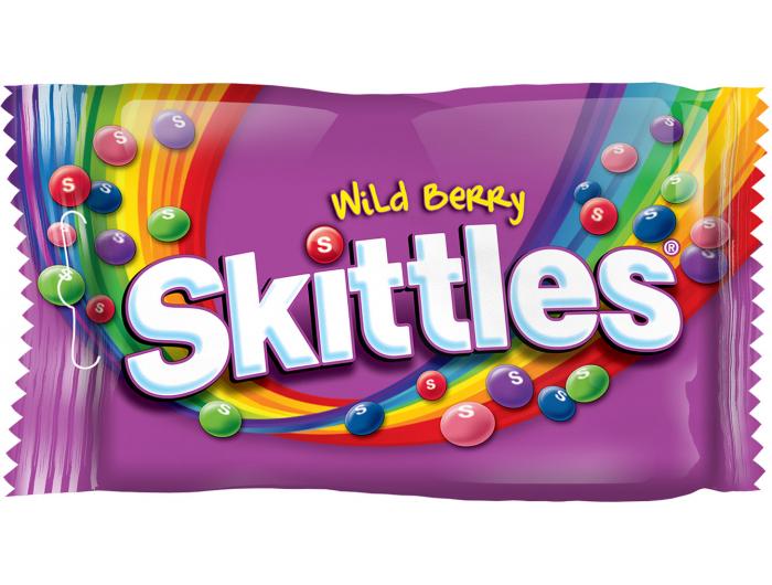 Skittles wild berry bomboni 38g